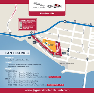 Jaguar Simola Hillclimb - Fanfest Map