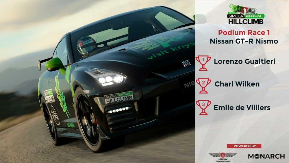 Podium Race 1 - Nissan GT-R Nismo